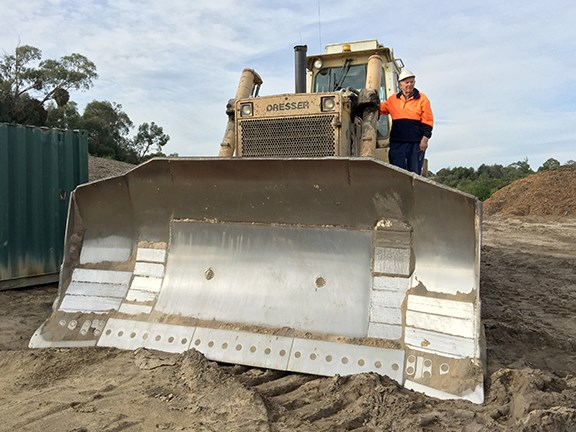 Equipment focus Ray Jackson and his Dresser TD40 dozer