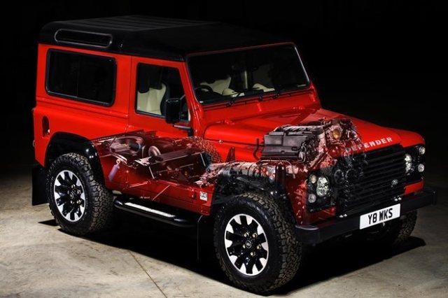 Land Rover Defender Works V8 launched