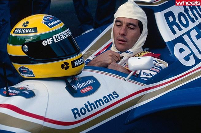 Ayrton Senna Rothmans Car Wallpaper Senna 20th Anniversary