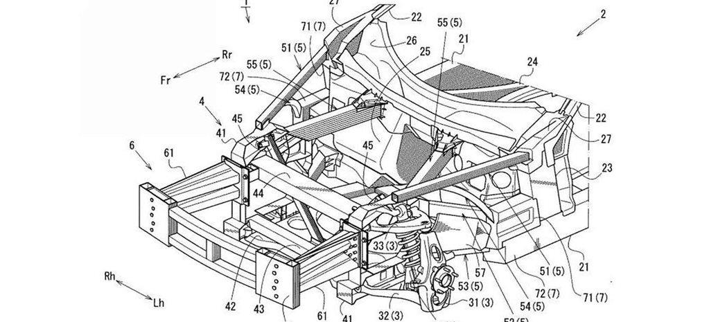 Patent reveals possible Mazda 'RX-9' under development