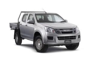 2018 Isuzu DMAX SX (4x4), 30L 4cyl Diesel Turbocharged
