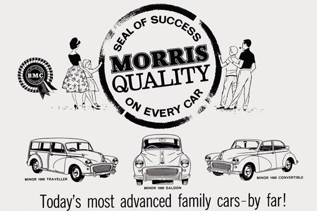 70 years of Morris Minor