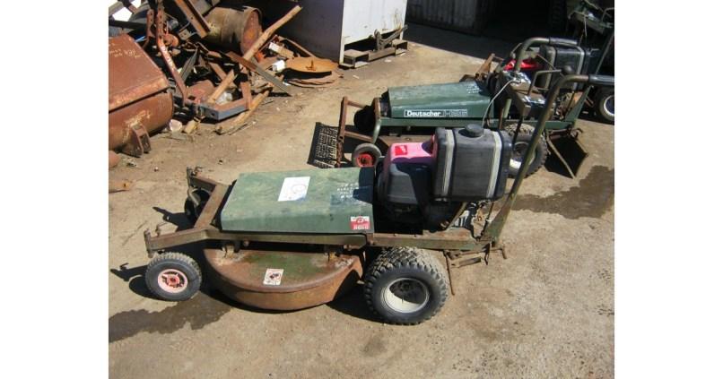Deutscher Walk Behind Self Propelled Mower Wrights Tractors Phone 08 8323 8795 For