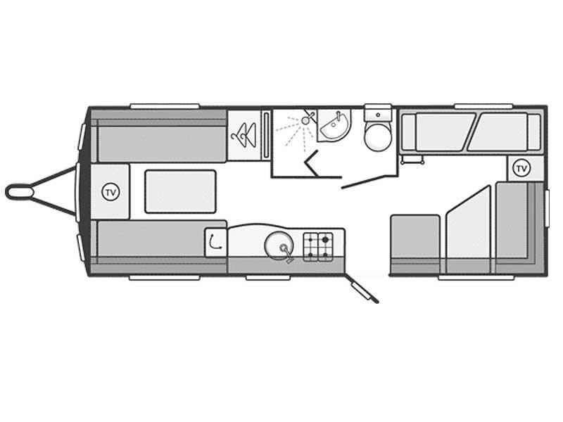 New SWIFT CHALLENGER SPORT 586 Caravans for sale