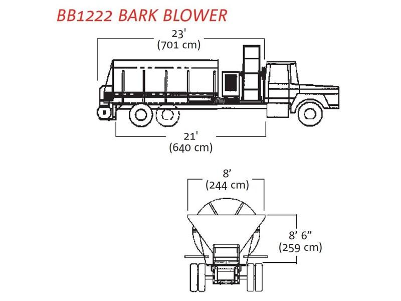 2015 FINN BB-1222 BARK BLOWER for sale