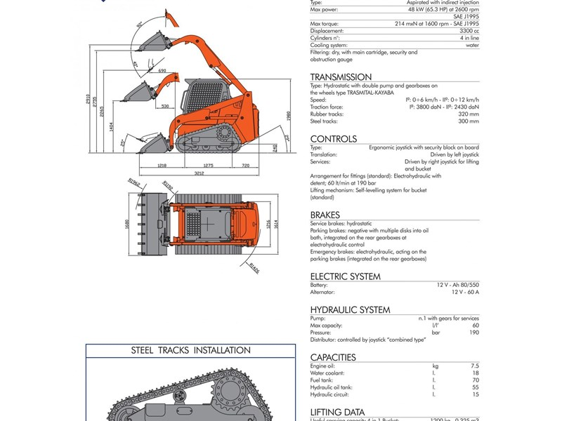 2015 ECM ETL160.4 for sale