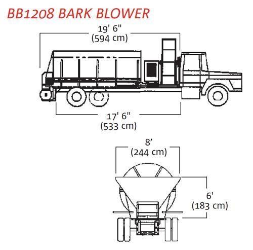 2015 FINN BB-1208/1216 BARK BLOWER for sale