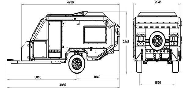 New CONQUEROR AUSTRALIA UEV-490 Camper Trailers for sale