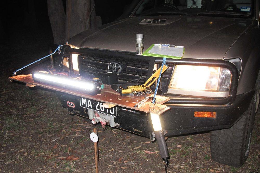 medium resolution of wiring spotlight to high beam hilux
