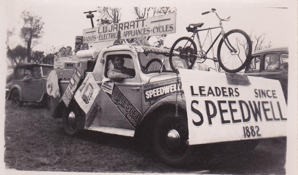 History Cycling Australia