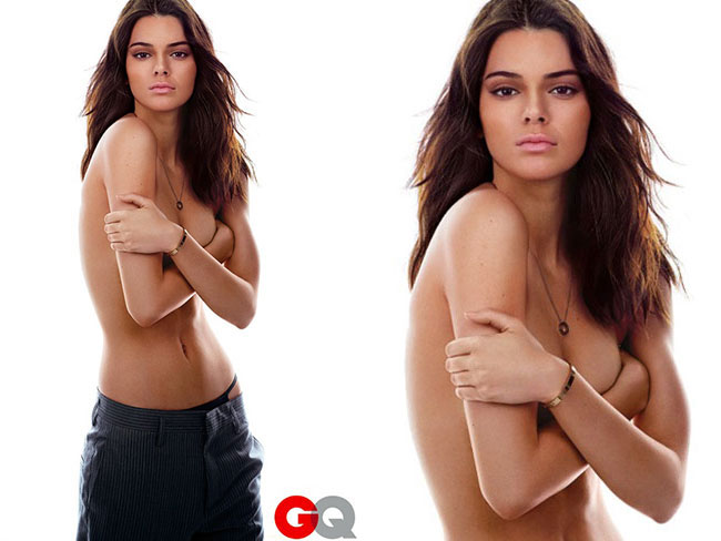 Foto Kendall Jenner Nekat Telanjang Bulat