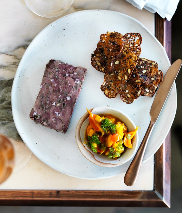Duck rillettes with piccalilli recipe Gourmet Traveller