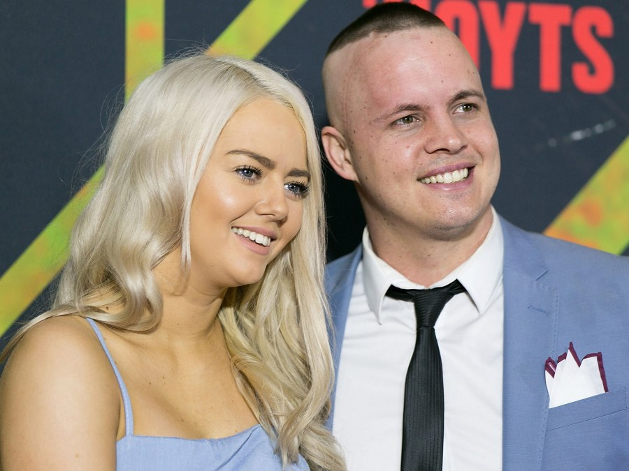 Johnny Ruffo looks a picture of health following surgery ...