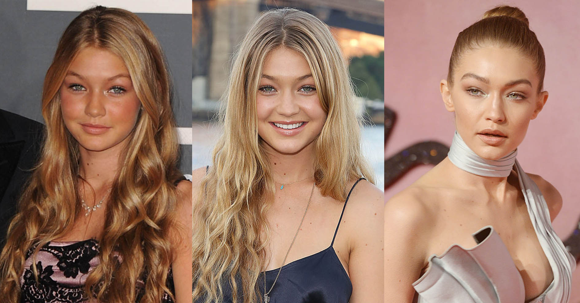 Gigi Hadid S Before After Transformation In Pictures