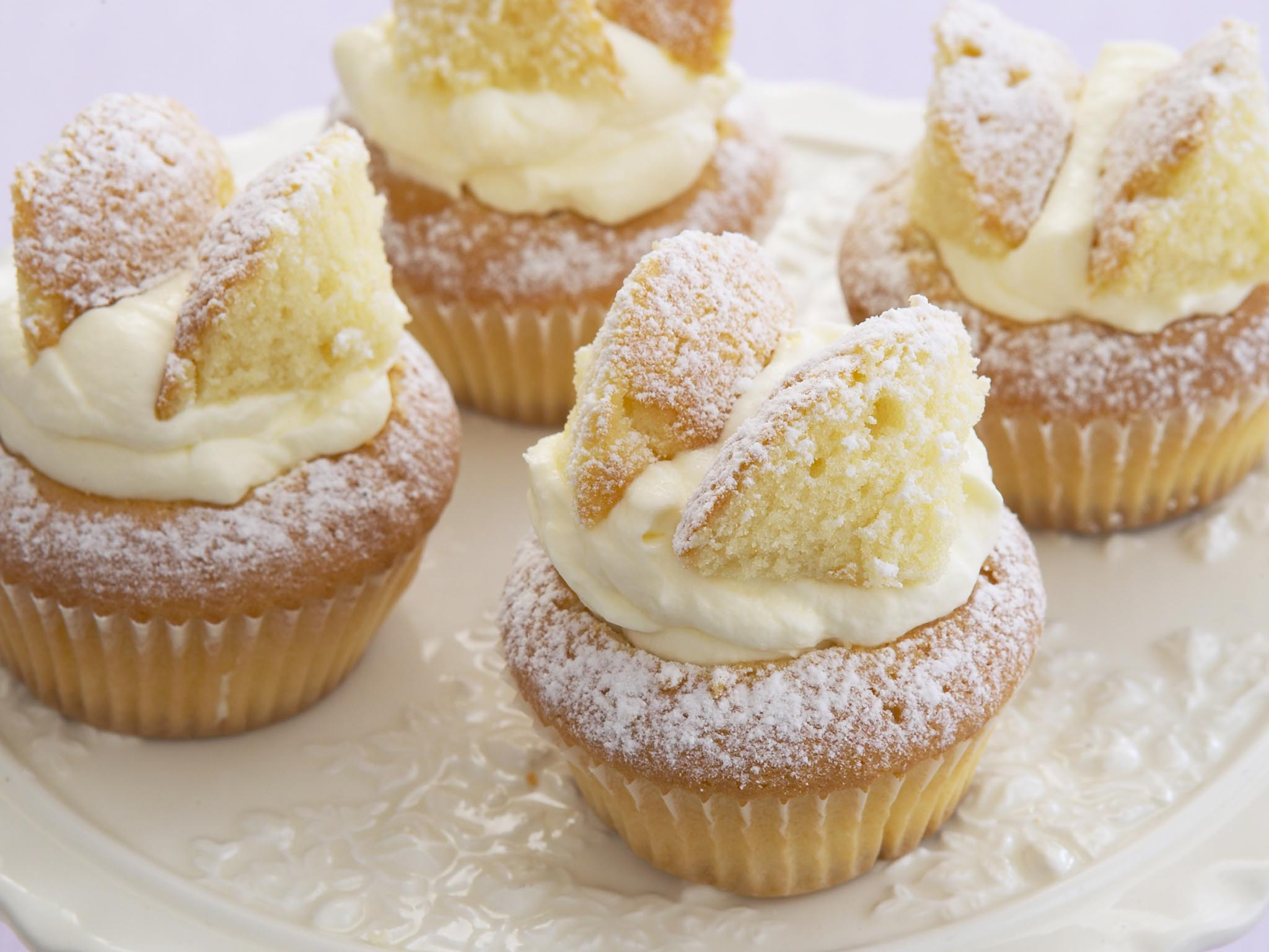 Light And Fluffy Butterfly Cakes Recipe Food To Love