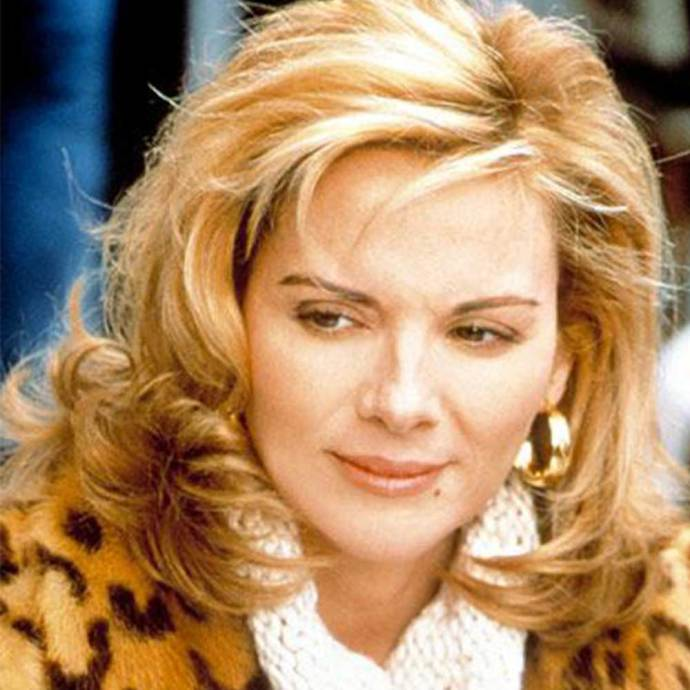 **The questionable**  Samantha's blowout has a few too many layers for our liking. But then again, it *was* the '90s.