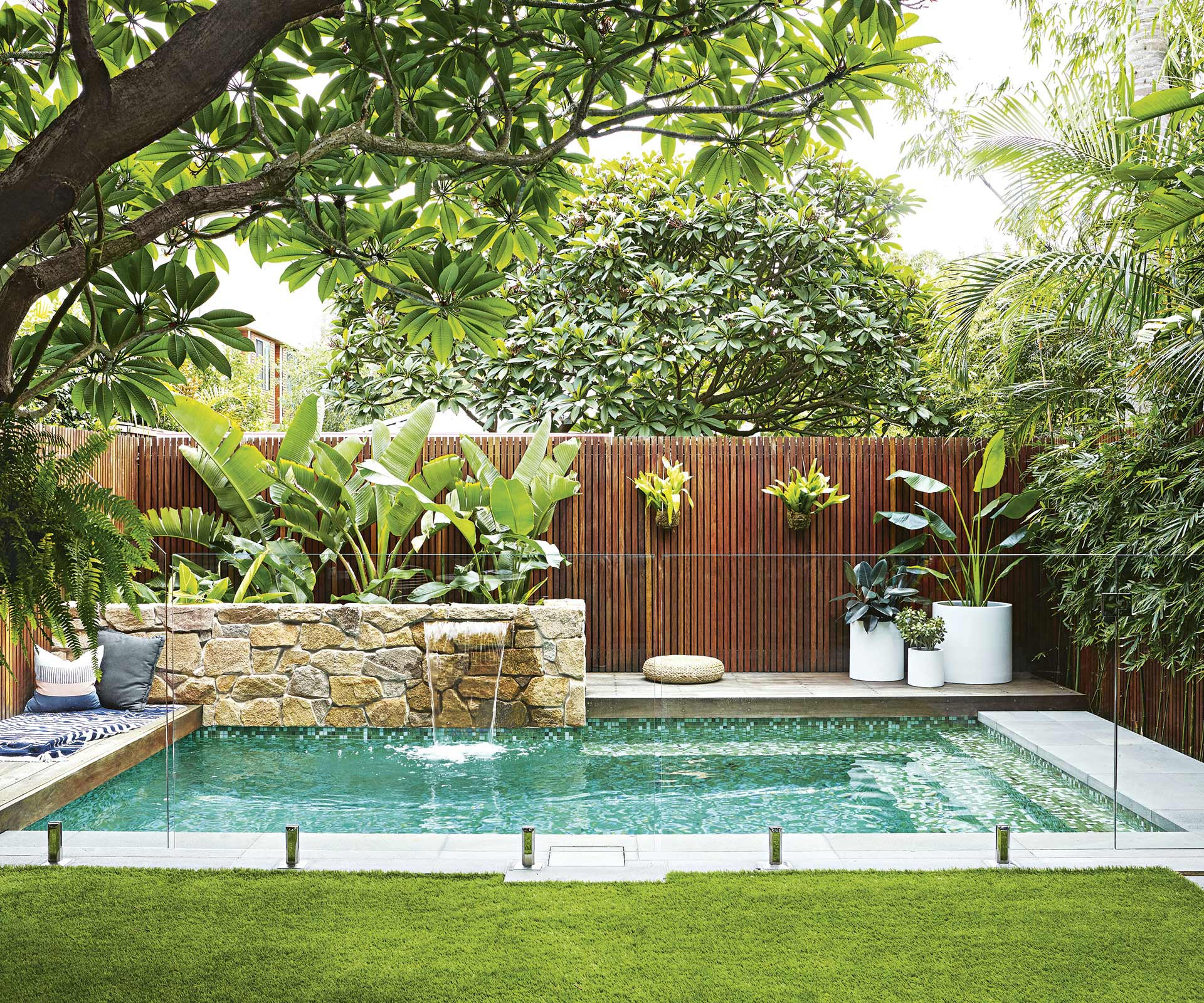 This Compact Sydney Garden Is Inspired By Bali Inside Out