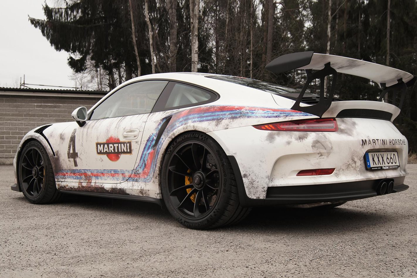 Porsche 911 Gt3 Rs Wrapped As Barn Find  Motor