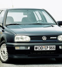 the car in question is called the golf vr6 and the main mechanical difference between it and the r32 is the vr6 s lack of all wheel drive  [ 1422 x 948 Pixel ]