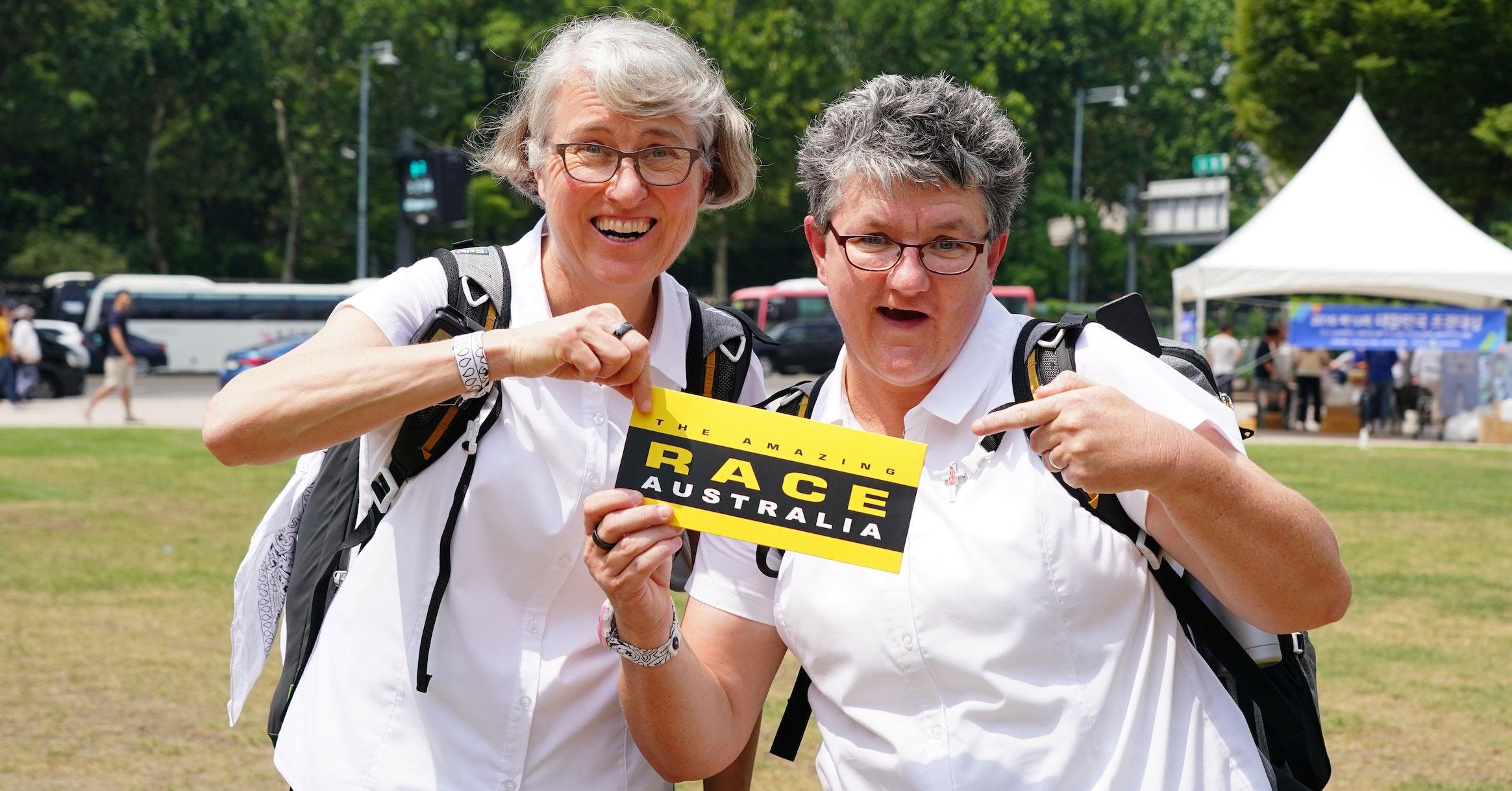 Amazing Race Nuns Reveal They Re Crushing On Beau Ryan
