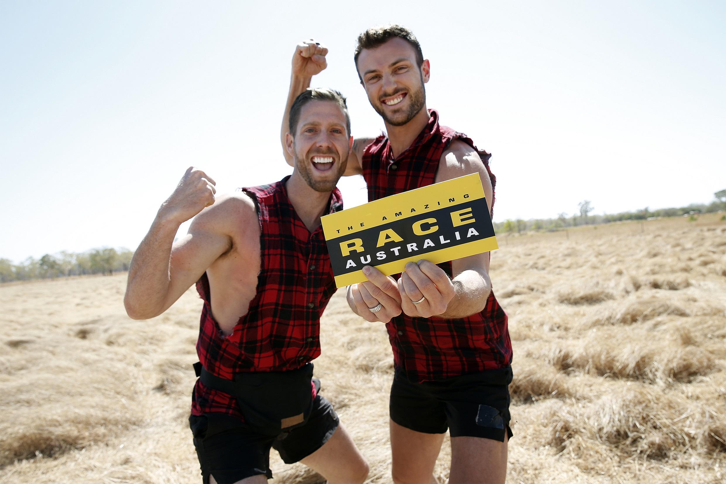 Tim And Rod Win The Amazing Race Australia 2019 Tv Week