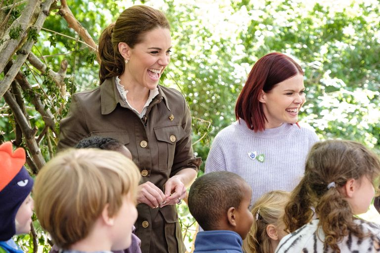 Duchess Catherine looked in her element on children's TV show Blue Peter. (Image: BBC)