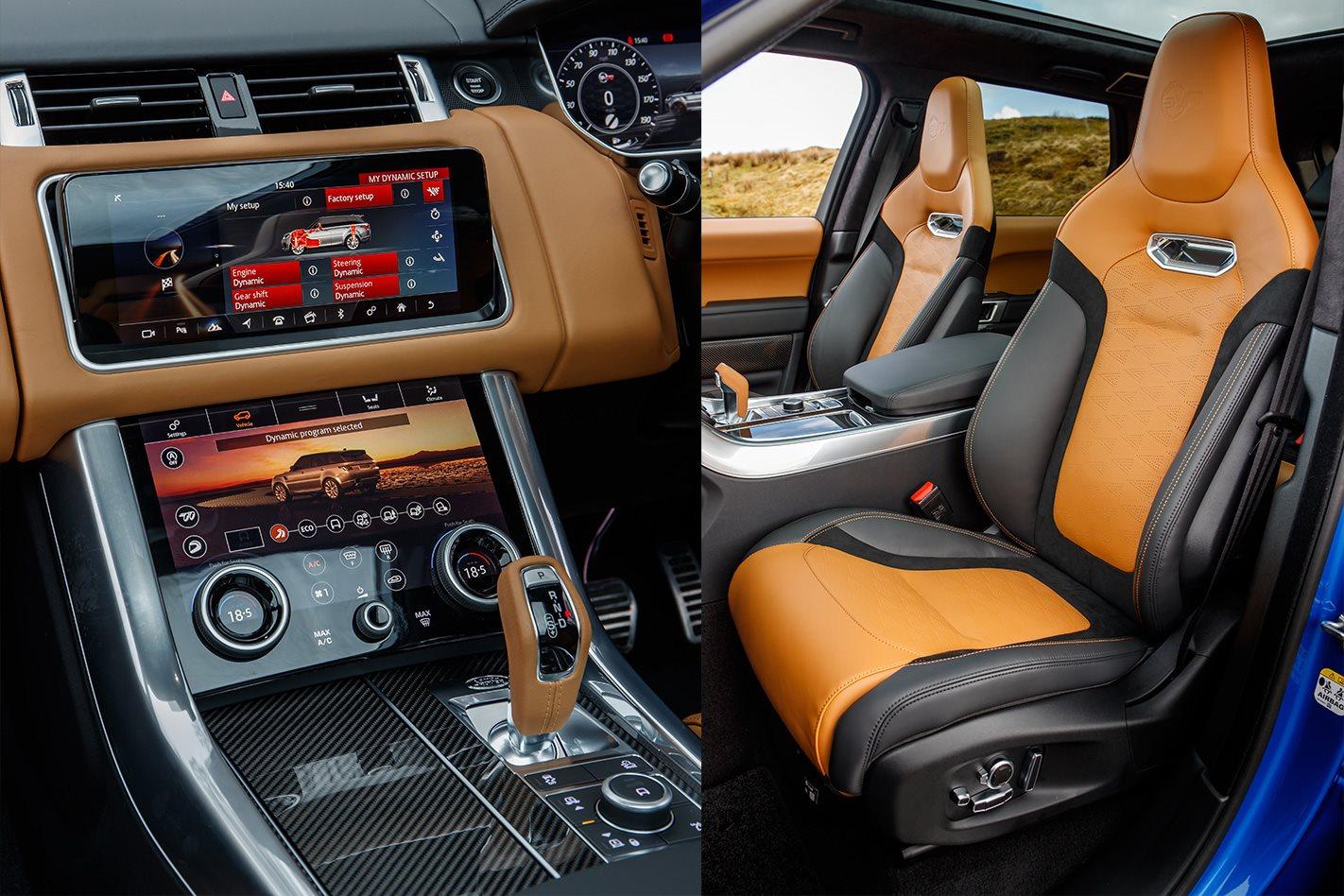 Range Rover Sport Interior 2018