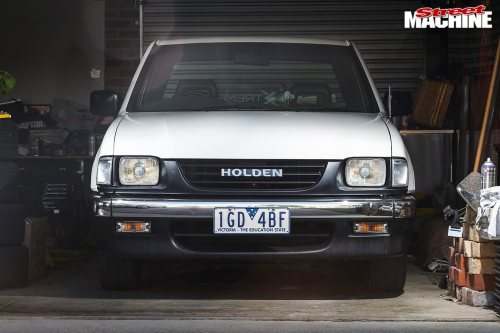 small resolution of holden rodeo front