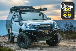2018 Custom 4x4 of the Year finalist: Isuzu DMax