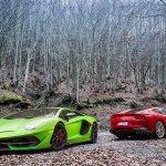 2019 Lamborghini Aventador Svj Vs Ferrari 812 Superfast Performance Comparison Review