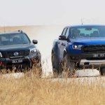 Ford Ranger Raptor Vs Nissan Navara N Trek Warrior Comparison