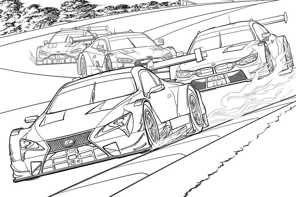 Toyota Land Cruiser Coloring Pages