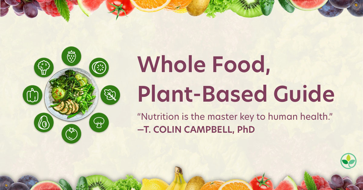 whole food plant based guide facebook