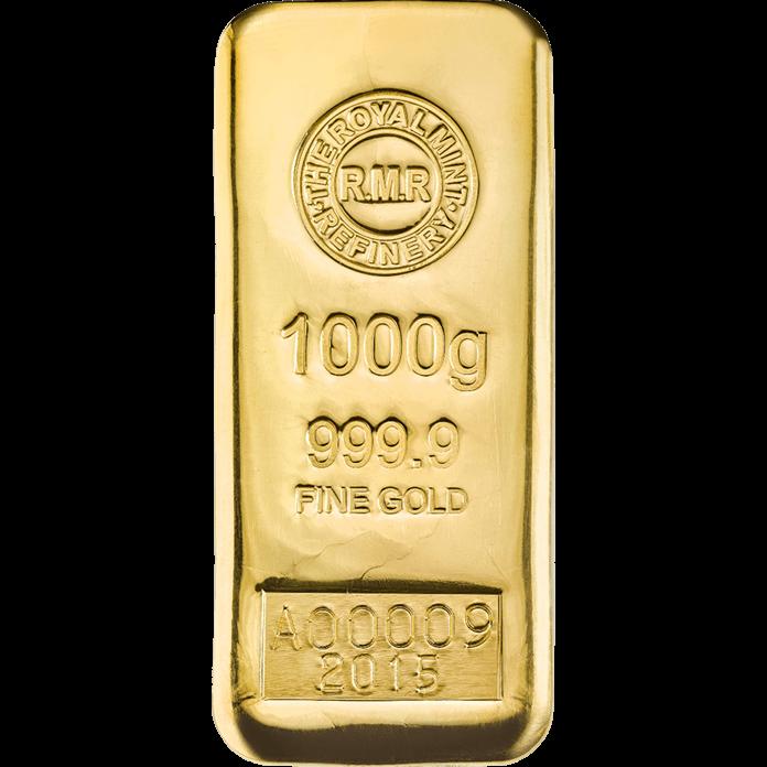 1 kg gold bars