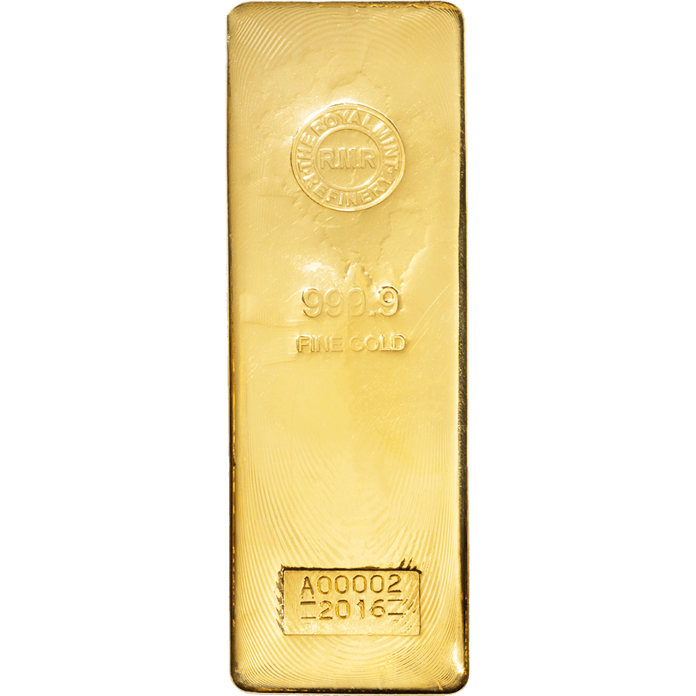 400 oz gold bar