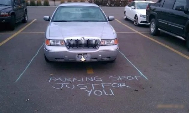 Image result for parking notes funny