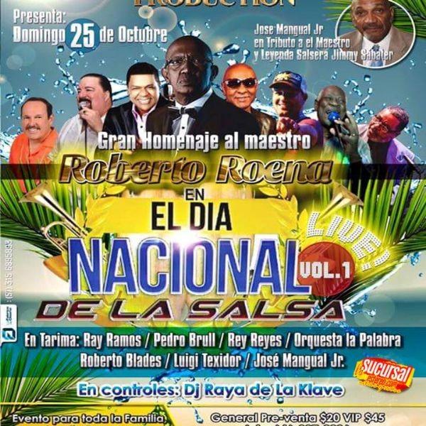 Dia Nacional De La Salsa Vol 1 Tickeri Concert Tickets