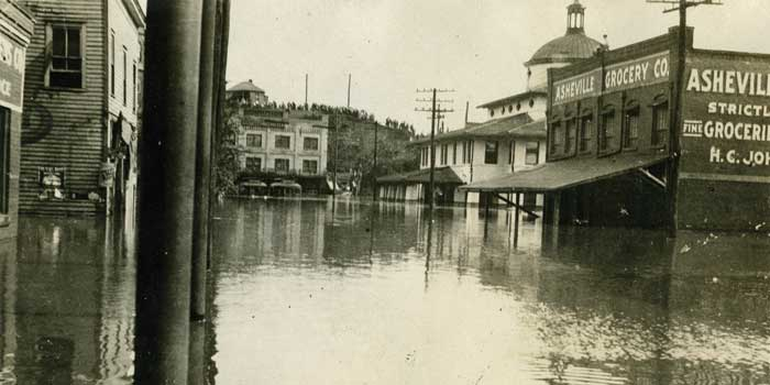Hell And High Water The Flood Of 1916 Our State Magazine