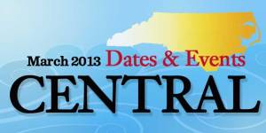 March 2013 Central Events