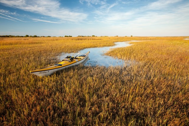 Shackleford Island Water Trail. By Tomas Lonka.