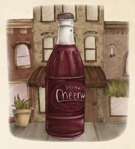 cheerwine full illustration