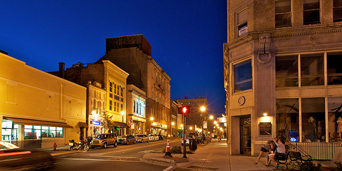 Downtown Wilmington. Photo by Jay Sinclair.