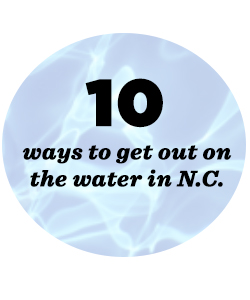 10 places to enjoy water in NC