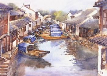 Painting image courtesy of JJ Jiang