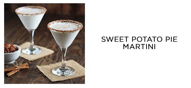 sweet potato pie martini