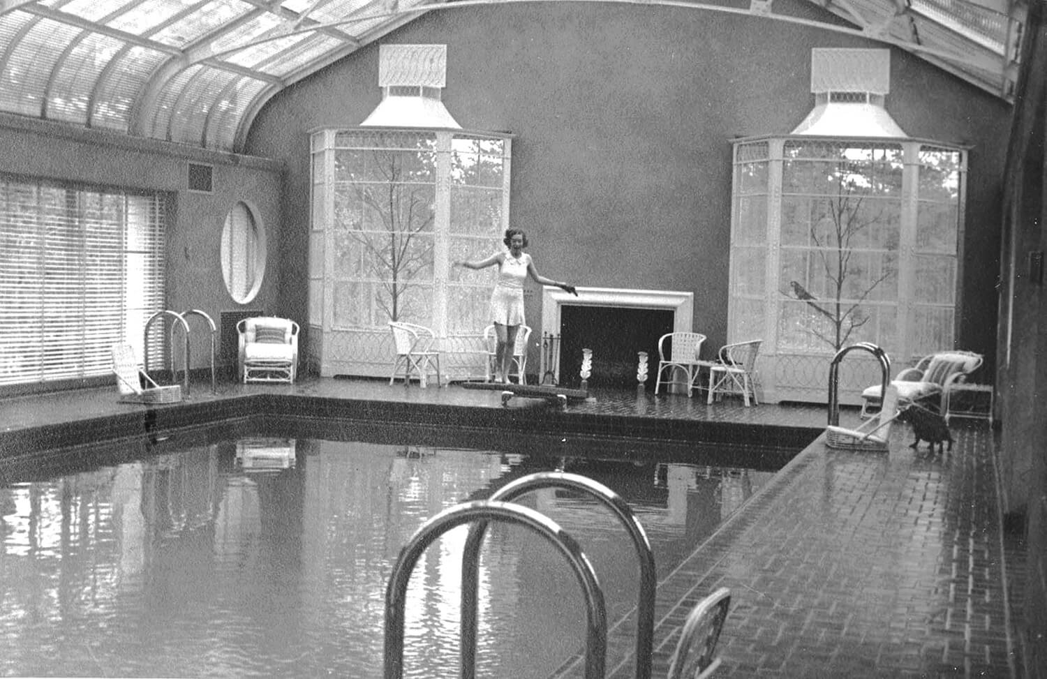 reynolda house swimming pool 1