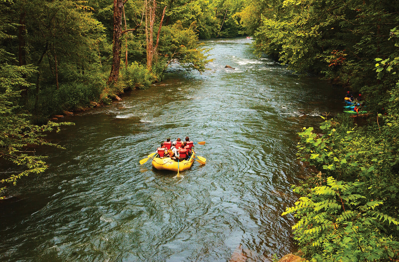 Cheoah River rafting