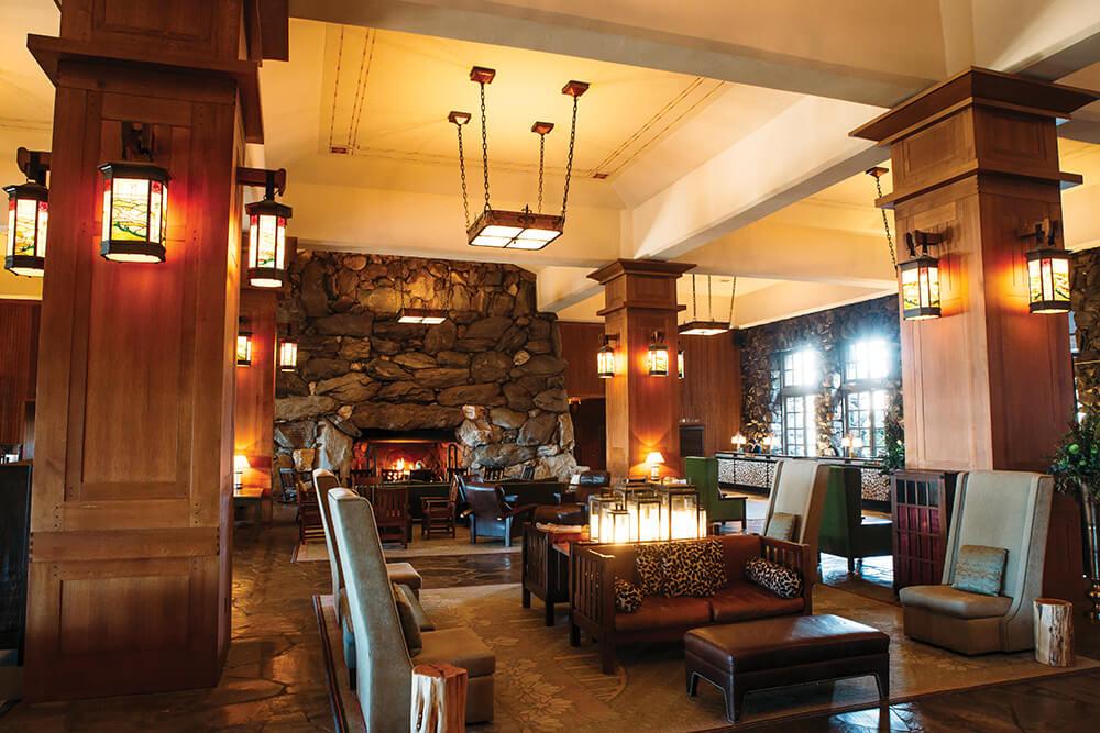Grove Park Inn lobby