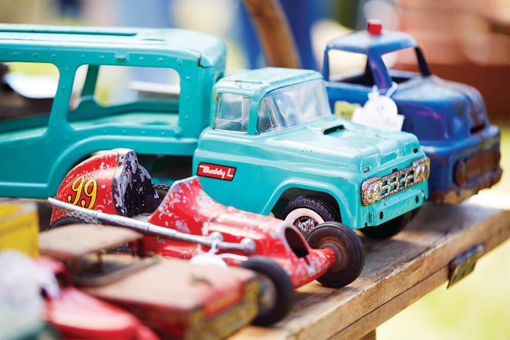 steel toy trucks