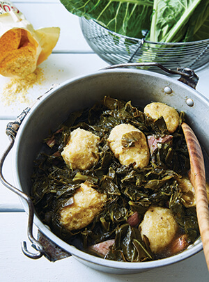 collards and dumplings 300x405